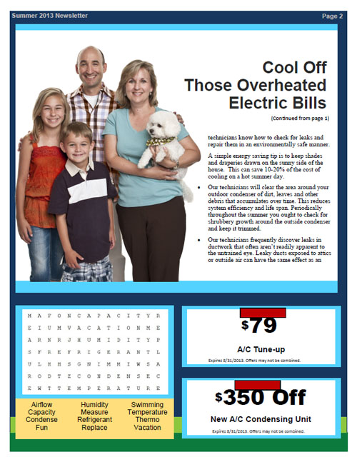 HVAC Newsletter